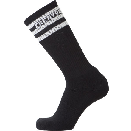 Skateboard The fact that these brand-new Creature Skateboards socks are named the Pure Death is kind of ironic, because that's usually what the old socks you're throwing away smell like. These are nice and fresh though, we promise. - $10.37