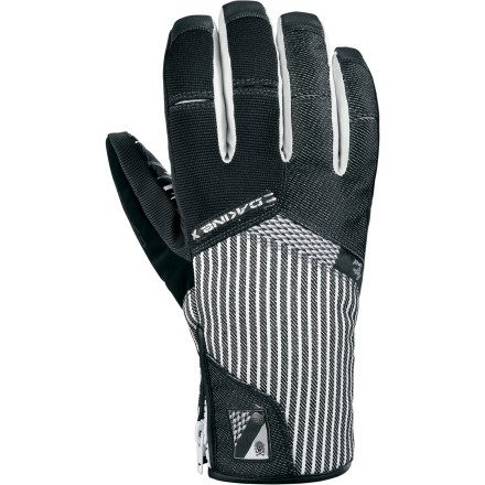 Snowboard Cram your chilly paw into the DAKINE Bronco Glove, and you'll completely forget that it's January. The Gore-Tex insert keeps your hand dry without any sweaty clamminess, while killer styling from Wolfgang Nyvelt keeps you looking good, even while you crash and burn in the pipe. - $45.47