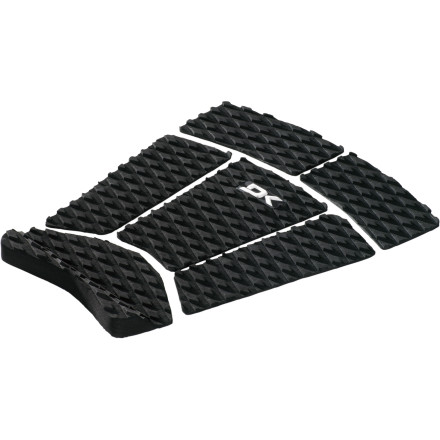 Surf DAKINE made the Fish Traction Pad extra-wide just for fish boards, fun boards, or long boards. A six-piece design lets you pick and choose which parts you want to use. - $34.16