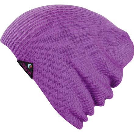 Snowboard The DAKINE Women's Morgan Beanie keeps your head from getting cold so you can stay out and keep playing in the snow. After all, if you aren't out there in the snow with your boyfriend, someone else will be. - $25.00