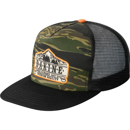 Surf The DAKINE Trucker Hat is just a removable mullet. Business up front, party in the rear. - $15.00