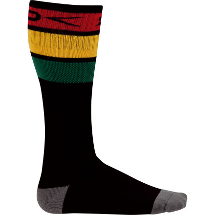 Skateboard A step up from other socks, due to its ability to provide uncompromised board feel, the DAKINE Thinline Sock keeps your feet warm, dry, and won't harsh your ride. - $10.17