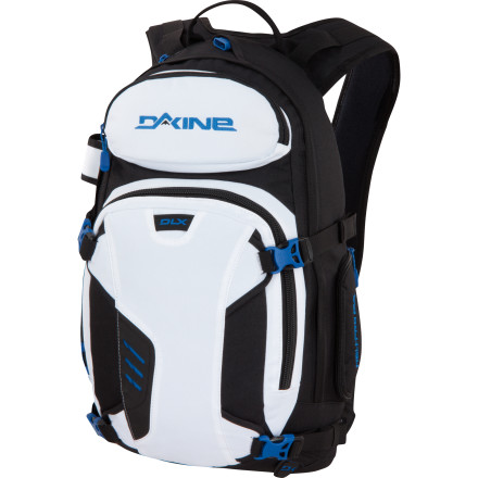 Camp and Hike Stuff the DAKINE Heli Pro DLX 20L Backpack full of tasty treats, luxurious layers, and blood-warming beverages. With just enough room for the necessities, this streamlined pack is perfect for a day of out-of-bounds play or a chopper trip to the top. - $69.97