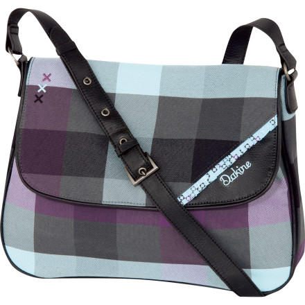Entertainment The Dakine Serena Purse mixes a little fun with a lot of organizational savvy. This bag is ready for your wallet, your laptop, and whatever other surprises you want to pack. - $42.00