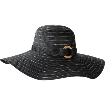 Surf Once you don the floppy brimmed straw DAKINE Women's Sunny Hat, you're safe to soak up the rays on the beach or pull out choking garden weeds without getting too much sun on your head, face, and neck. - $30.00