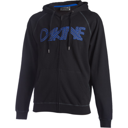 Fitness The DAKINE Linked Full-Zip Hoodie may serve as a secret portal to an alternate universe full of chocolate nachos, tap-dancing grizzly bears, and sweet old ladies running ruthless loan-shark operations. It also may just be a regular hoodie. You'll just have to buy it to find out. - $30.22