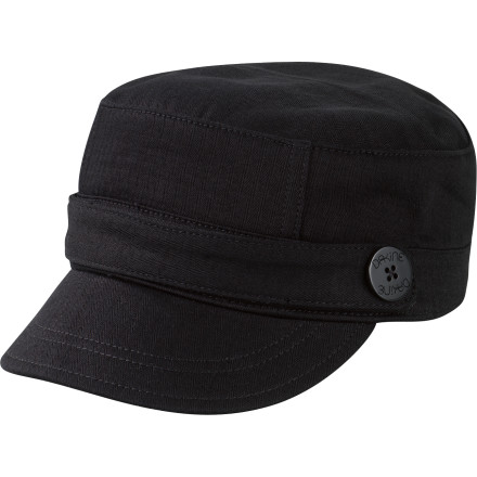 Surf When you slip on the cadet-style DAKINE Women's Emily Cap, you're not required to take orders from anyone but yourself. That's why you always end up at the beach. - $11.98