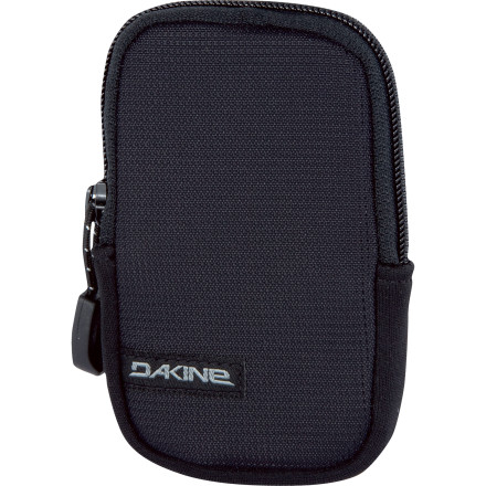Surf Almost as important as keeping your high-priced smartphone (or digital camera) safe is its accessibility, which is where this DAKINE Cell Case shines. Attached to one of the straps of your DAKINE pack, shoulder bag, or messenger bag, the Cell Case features fleece lining and expandable neoprene sidewalls to protect your portable life-line. Simply affix it to a strap via the hook-and-loop closure straps, slip your device inside, zip it closed, and get a move on. - $6.97