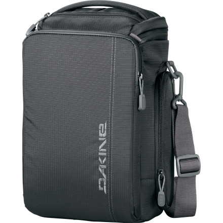 Surf Hey there tech-savvy photog, the DAKINE Upload 8L Camera Bag is that 'special new addition' to your life that the fortune cookie you broke open the other night was talking about. Carry your DSLR, tablet, and all the accessories safely and easily. You can breathe now. - $99.95