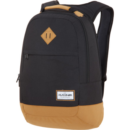 Camp and Hike Streamlined and sleek, the DAKINE Contour 27L Backpack doesn't waste space with gimmicks. This pack uses quality materials and a smart design to keep you and your electronic brain together while you're commuting to work, to class, or to the park. - $48.97