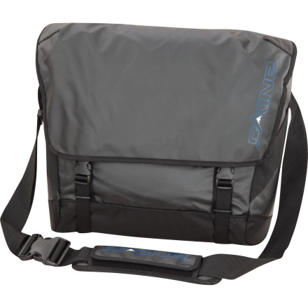 Surf Whether you're dodging insane drivers downtown or working your way through the pedestrian throng, the DAKINE Granville 26L Messenger Bag protects your gear from rain, spilled drinks, and sprinkler attacks. - $55.97