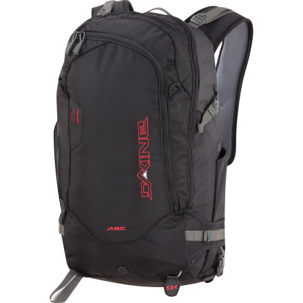 Camp and Hike The DAKINE Arc 34L Backpack keeps you prepared for all-day adventures far away from resort crowds. Plenty of storage and dedicated pockets for your shovel, goggles, and helmet keep everything organized during your pursuit of the steep, deep, and untracked. - $111.97