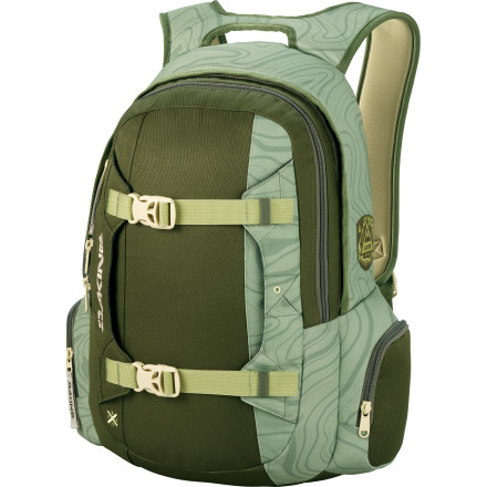 Camp and Hike Austin Smith is a super well-rounded rider. The DAKINE Mission is a super well-rounded backpack. Do you see where we're going with this one - $55.97