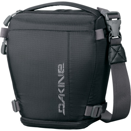 Entertainment Your camera is like your baby, and the DAKINE DSLR Camera Case 4L cradles your DSLR like it's a newborn. Tuck your camera into this compact, streamlined bag when you want to travel light but aren't willing to skimp on security. - $89.95