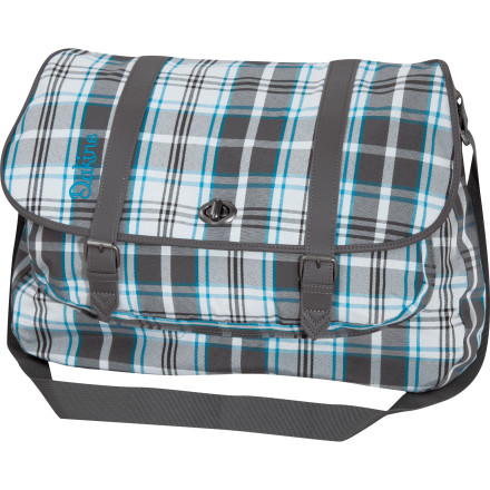 Surf DAKINE invented the remix for the traditional messenger bag that is. And the Shyla Messenger Bag is the hit track. Secure closure mixed with quality materials and a sound look speak volumes for this versatile and durable bag. - $41.97