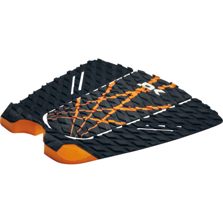 Surf The DAKINE Simpo Pro Traction Pad features a three-piece design for easy customization, and a steep tail kick for extra leverage. - $22.77