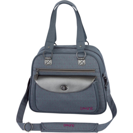 Entertainment With its padded laptop sleeve pocket, the Dakine Women's Valet Bag ensures you're never without your trusted e-brain again. This small bag sports two internal organizer pockets to prevent your bag from becoming a muddled mess, while the front pockets sport slots for your MP3 and celly. - $45.47