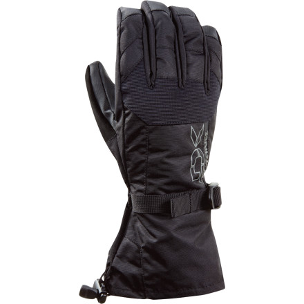 Snowboard The DAKINE Scout Glove keeps warmth and comfort locked in all-season long. From first snowfall to spring slush, the Scout allows for customizatiable warmth thanks to the included removable stretch-fleece liner. And as far as staying dry goes, the PU membrane is certified waterproof and windproof to keep you going all day without getting soaked. - $31.47