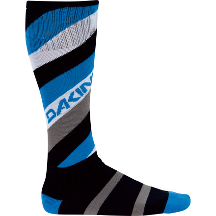 Snowboard The DAKINE Freeride Sock wicks away moisture and cushions your feet from impact to keep you feeling fresh all day long. - $14.95