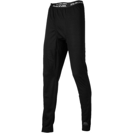 Surf As you do your dirty thing on the mountain, your body doesn't know whether to shiver or sweat like a beast. With the midweight DAKINE Talon Bottom, you can stay right in the middle thanks to the midweight quick-drying polyester. - $44.95