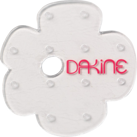 Snowboard The DAKINE Petal Mat Stomp Pad was styled to look exactly like the puddle of drool that you left on your desk when you fell asleep in calculus, minus the little spiky-things. That was pretty nasty. - $4.77