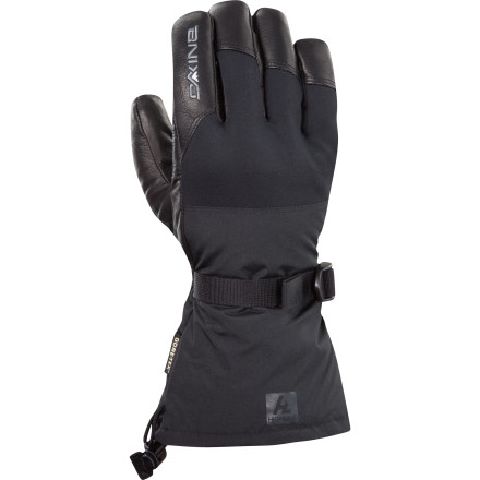 Snowboard With a waterproof Gore-Tex insert, super-toasty PrimaLoft insulation, and durable leather palms and fingers, the DAKINE Rover Glove is fully equipped to handle the nastiest, coldest, stormiest weather your home resort will serve up all season. - $50.97