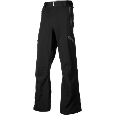 Snowboard Whether you're throwing in for your first freeride comp or hunting cliffs with powdery landings in the backcountry, the DAKINE Clutch Pants will keep you dry when you're playing in deep snow and going to the lodge isn't an option. These highly technical pants mix a straightforward design with reliable performance so you can focus on nailing your lines and landings. - $127.58