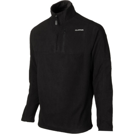 Ski The big January storm's eyeball-freezing temps keep everyone in the lodge, except for you. Your DAKINE Torque 1/4-Zip Top's heavyweight micrfleece polyester works under your insulated ski jacket to keep you toasty and dry during the constant onslaught of faceshots. - $38.47