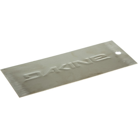 Snowboard The DAKINE Metal Scraper is what professionals working is shop basements everywhere use to get excess p-tex and base-weld off the base of the board quickly and effectively. - $5.96