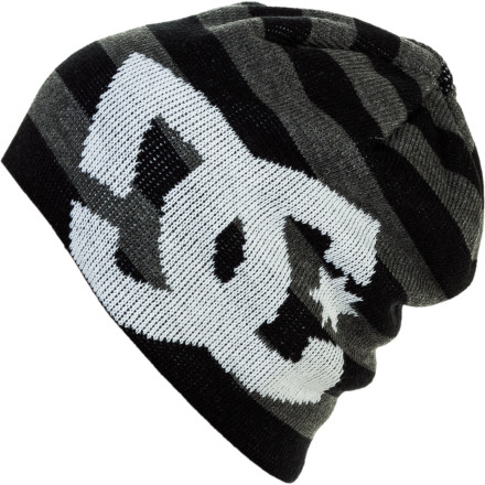 Entertainment The warm and simple DC Big Star Beanie makes it known who you support. DC knit its classic DC star logo into the front of this acrylic hat. - $13.20