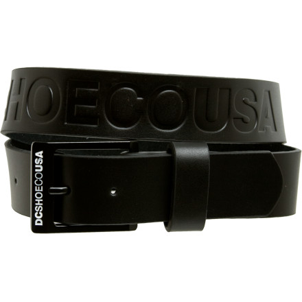 Skateboard Attach your gun's holster to the DC Belt Star 3 because a man without a gun is like a man without a belt, and a man without a belt is like a man who's pants are around his ankles. - $22.40