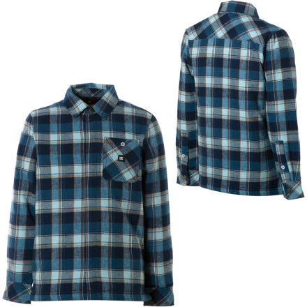 Motorsports The last thing you want to do is to give your little rascal an ax, but once he buttons up the DC Boys' Flak Flannel Shirt and offers to help, you can't refuse this once-in-a-lifetime opportunity. - $18.20