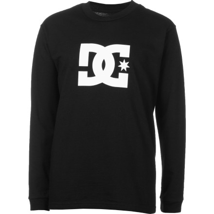 Motorsports Put on the DC Boys Star Long-Sleeve T-Shirt when it gets a little too chilly for your short-sleeves. That's what we like to call being a winner in the winter. - $16.00