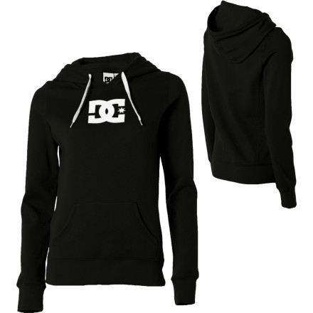 So what if you're not on the A, B, or C-list The DC Women's T Star E Pullover Hooded Sweatshirt doesn't need to have its name crossed off the list; it can simply walk past security, through the front door, and into the party. - $46.00