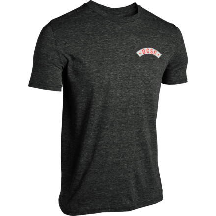 Sport the DC Men's Snake Attack T-Shirt and take a line where you want, when you want. That's just how it is. - $14.00