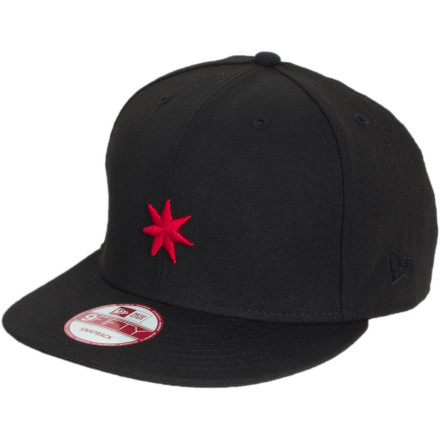 Your style and the tricks you pull outta that bag are what get you noticed, so cap your lid with the DC Starlate Hat before you get out there and shine. - $12.00