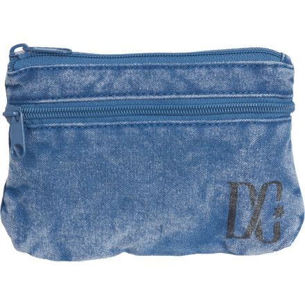Entertainment DC constructed the Women's Harvey Wallet from enzyme-washed cotton canvas that probably looks like a pair of pants you ownso you may want to think twice about throwing it down on a pile of laundry. - $8.00