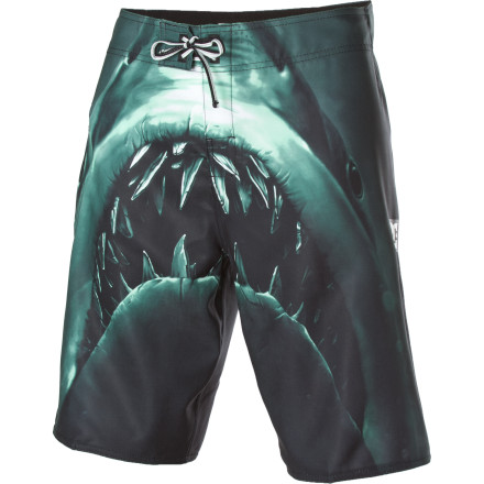 Surf Catch some scrumptious waves or dine on some savory cliff-jumping with the DC Lunchmeat Board Short. - $32.40