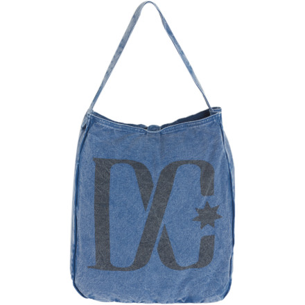 Entertainment Stuff everything you need (and some stuff you don't) in the DC Beech Purse. The Beech purse is made from durable cotton canvas that's undergone an enzyme wash for a distressed look, and it features a snap-button closure with a large DC emblem on the front. - $12.80