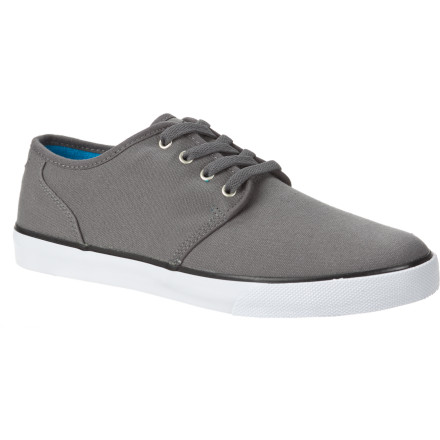 Skateboard DC gave the Studio C shoe a durable canvas upper and vulcanized construction for a timeless look that's totally skateable. - $39.00
