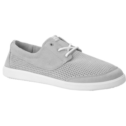 Entertainment DC designers took ventilation to the extreme when they crafted the Men's Pool LE Shoe with a mostly perforated, unlined upper. You get serious breathability and quick drying properties whether you're shredding a wet park in a northwest spring or fighting the southwest heat on the streets of Tucson. - $30.25