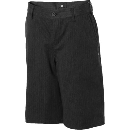 Skateboard Crisp style and clean lines mean that the DC Boys' Chino Short suits school days and skate days just the same. - $22.80