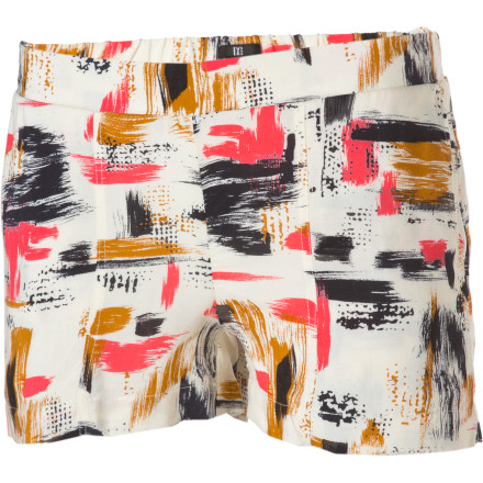 Jump into the DC Women's Veda Shorts and head over to that little coffee shop in town to grab a latte and a little quiet time. But, don't be surprised if these short shorts turn your quiet time into an intense flirting match with the espresso-sipping hottie in the corner. - $12.00