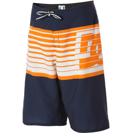Surf The DC Lyman Board Short keeps your kid comfy all day, thanks to stretchy, quick-drying fabric and strategically placed chafe-resistant materials. - $22.28