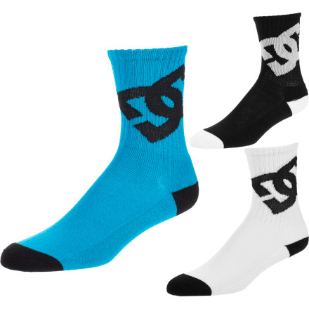 BMX DC Lifted Sock - Kids' - 3-Pack - $19.13