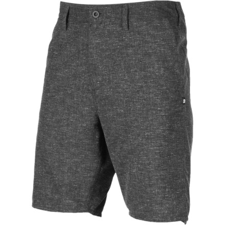 The DC Piston Straight Short features a tailored fit and yarn-dyed fabric in muted colors you can wear with just about anything. - $22.00