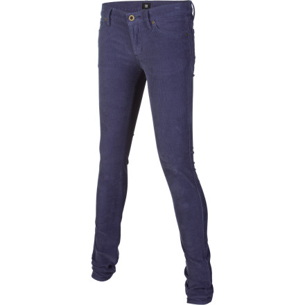 Sure, the streets of AZ's most southern city can fry a unsuspecting animal in its tracks on a hot summer day, but there's bound to be a few months throughout the year that call for the soft, low-textured corduroy styling of the DC Women's Tucson Denim Pant. - $23.20