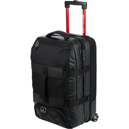 Entertainment The DC Jaunt Rolling Gear Bag is the ideal companion for those quick getaways when you can't afford to risk the airline losing your toothpaste and clean drawers. - $240.00