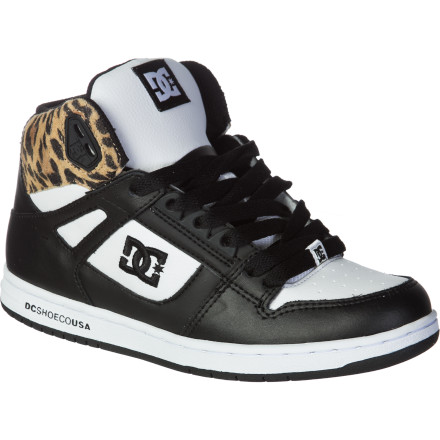 Skateboard Take a walk on the wild side with this safari-inspired colorway of the DC Rebound Hi LE Skate Shoe. - $64.00