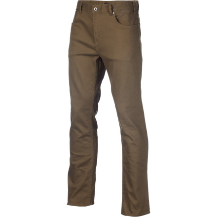 Whether you're perched on your board or on a stool at back of a coffee shop, you're bound to have confidence in your moves for the next trick or next attempt at striking up a conversation with your favorite barista when you sport the stretchy and soft DC Men's Straight OD Pant. - $48.65